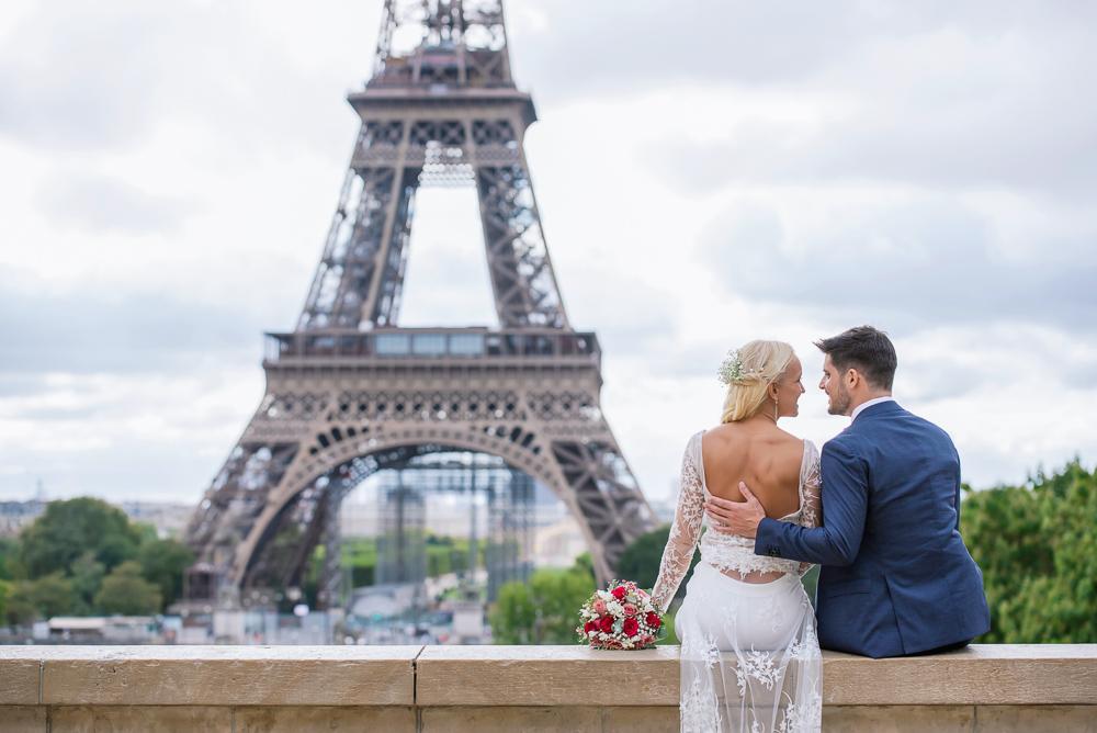 Paris France elopement 85