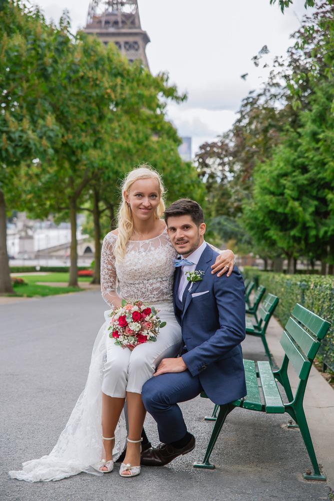 Paris France elopement 91