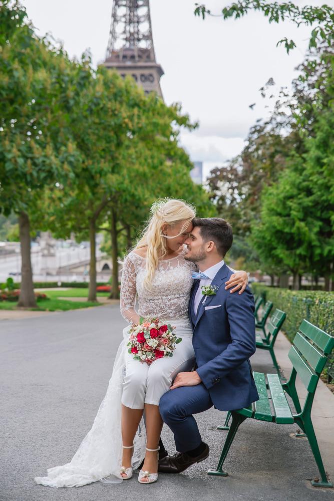 Paris France elopement 92