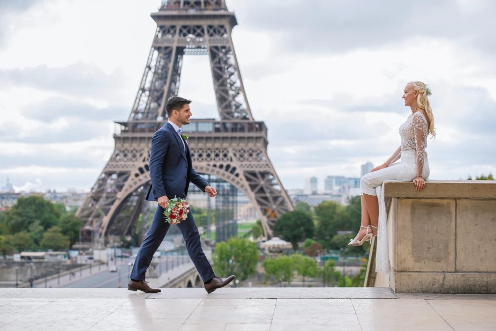 Paris France elopement 96