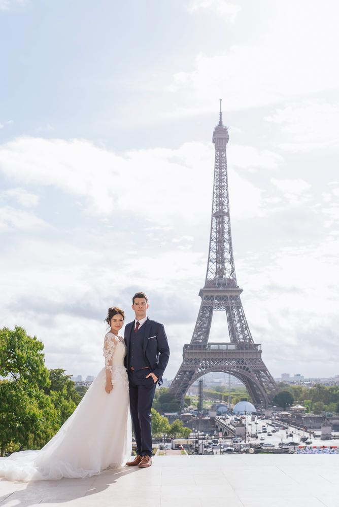 Paris prewedding photos 1