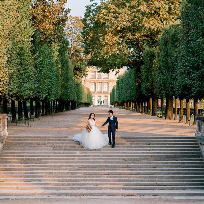 Pre wedding photo session in Paris by Odrida - pre wedding photographer in Paris France