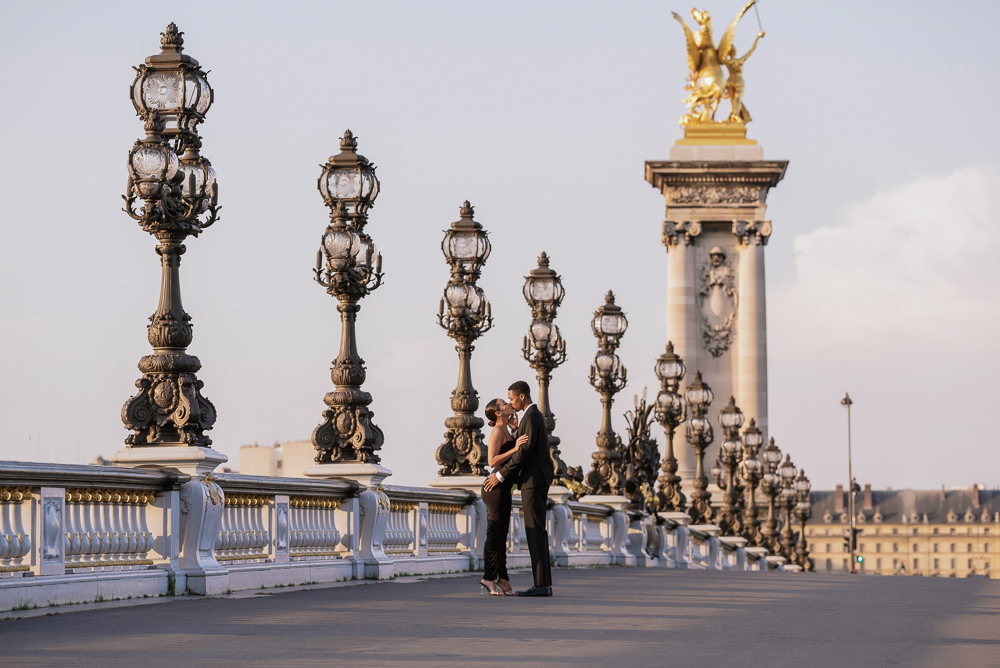 Proposal in Paris Eiffel Tower 26