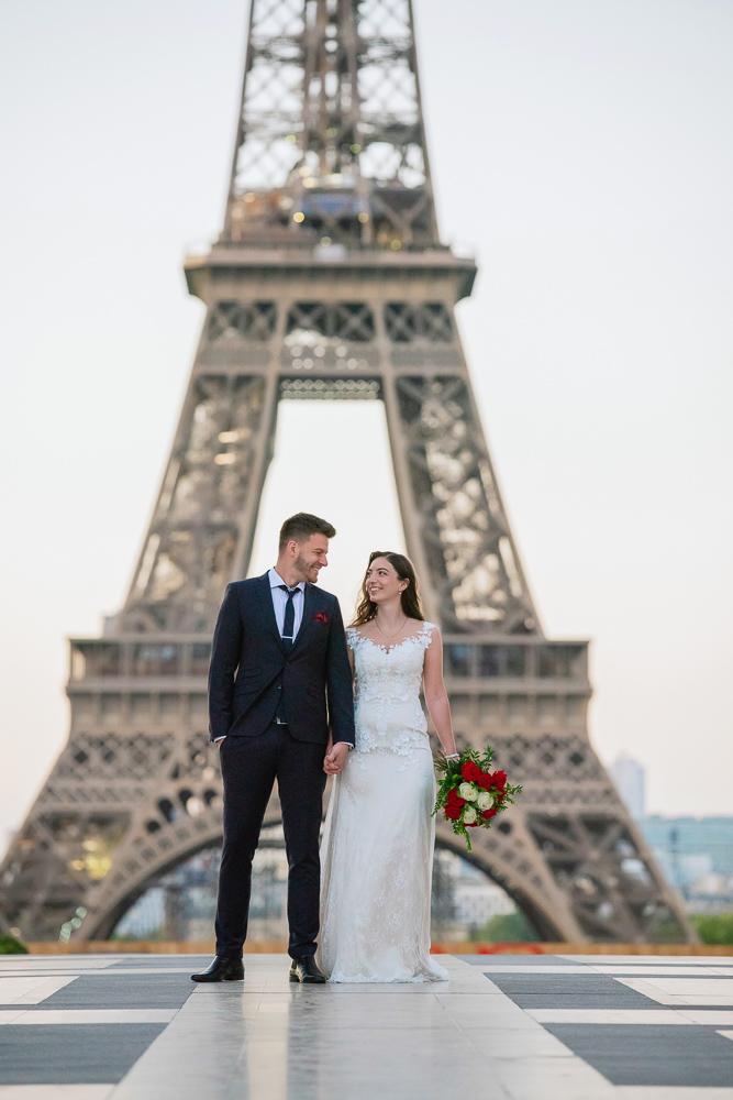 Wedding photoshoot in Paris by Pierre 1