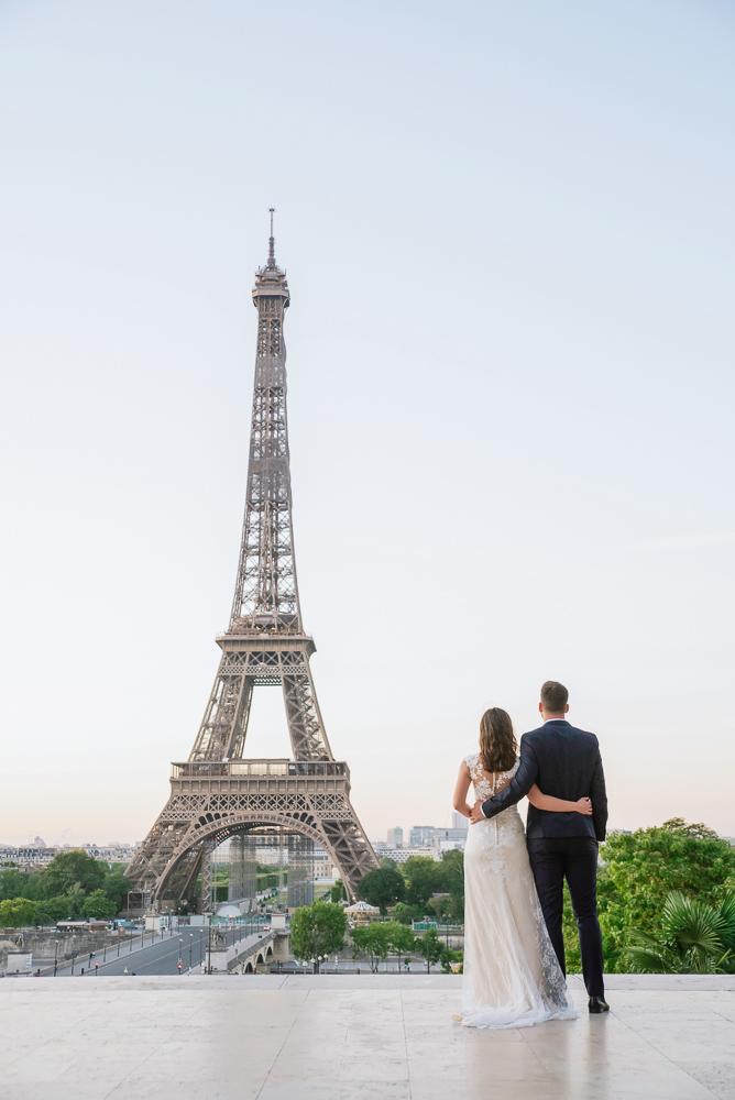 Wedding photoshoot in Paris by Pierre 16