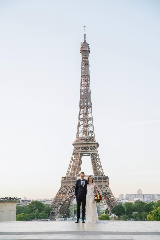 Wedding photoshoot in Paris by Pierre 22