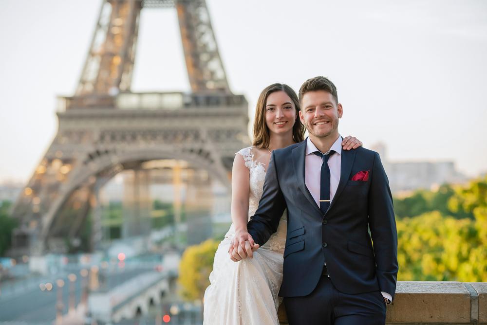 Wedding photoshoot in Paris by Pierre 29