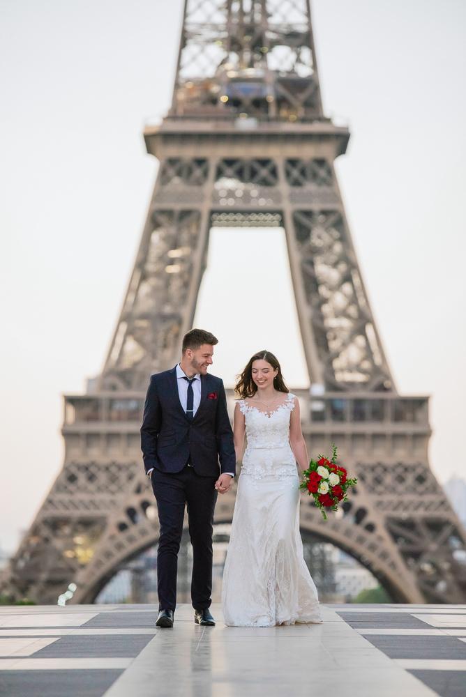 Wedding photoshoot in Paris by Pierre 3
