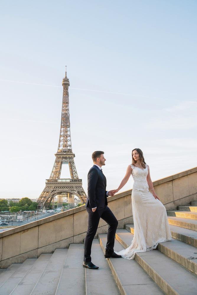 Wedding photoshoot in Paris by Pierre 30