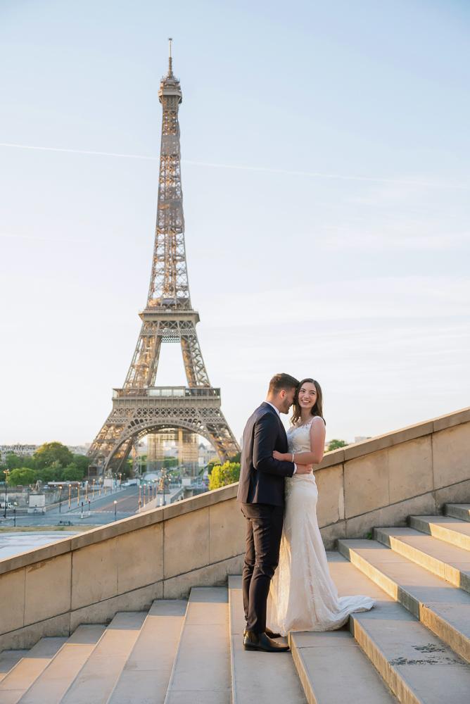 Wedding photoshoot in Paris by Pierre 32