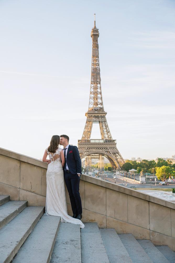 Wedding photoshoot in Paris by Pierre 34