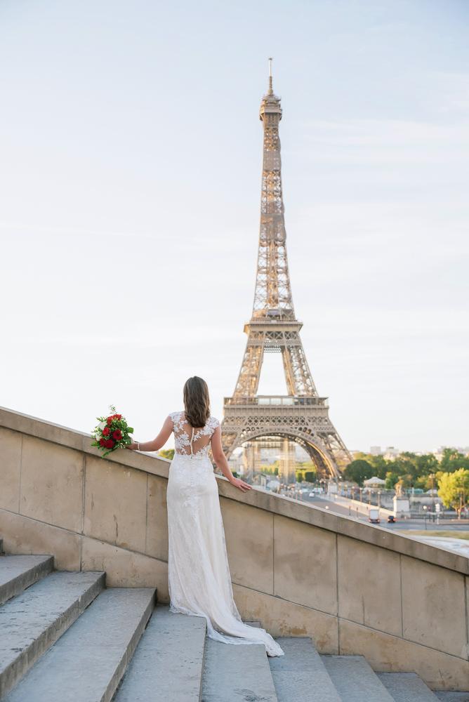 Wedding photoshoot in Paris by Pierre 36