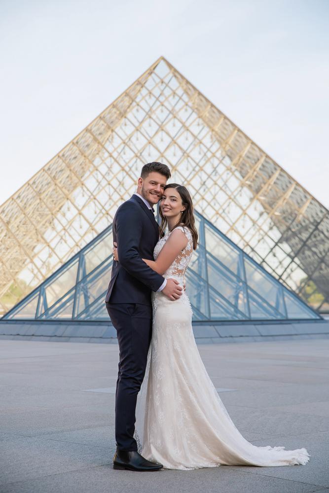 Wedding photoshoot in Paris by Pierre 45