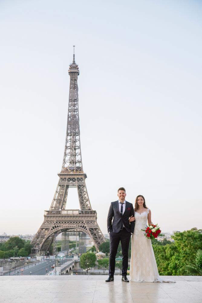 Wedding photoshoot in Paris by Pierre 5