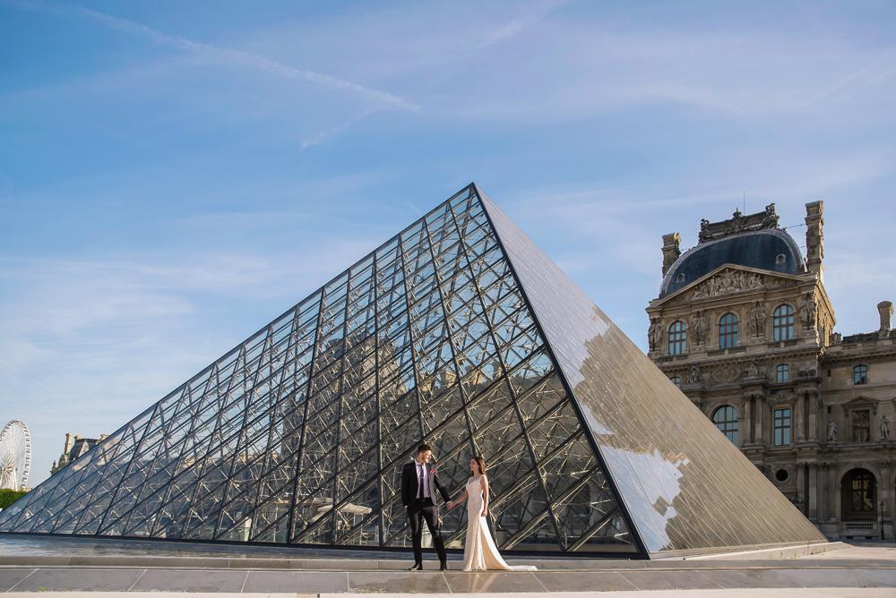 Wedding photoshoot in Paris by Pierre 50