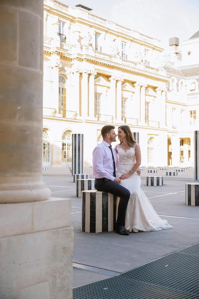 Wedding photoshoot in Paris by Pierre 51