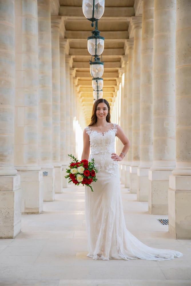Wedding photoshoot in Paris by Pierre 52