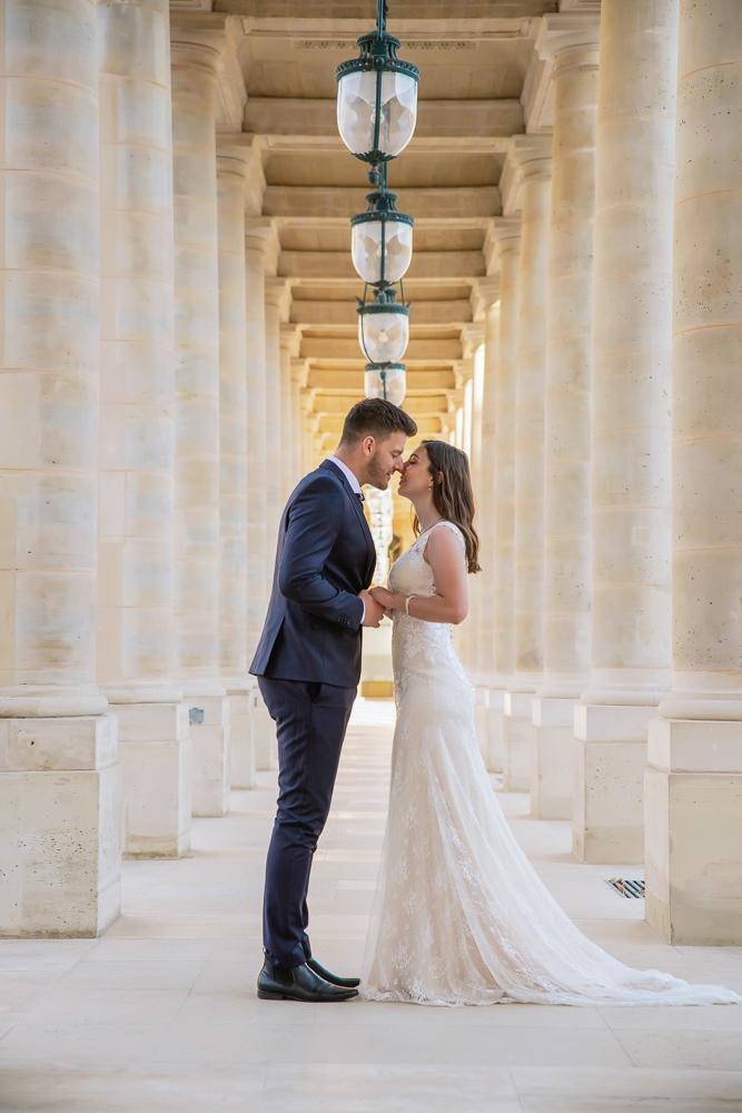 Wedding photoshoot in Paris by Pierre 55