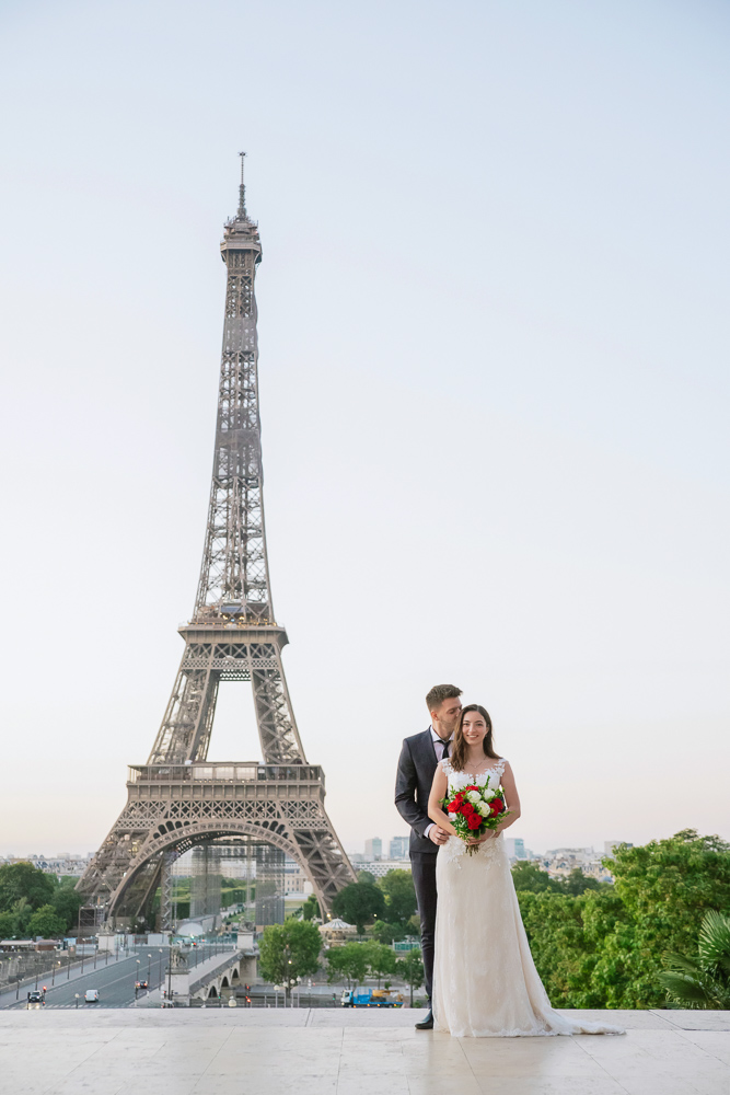 Wedding photoshoot in Paris by Pierre 6