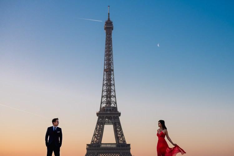 Best Eiffel Tower photo spots in Paris
