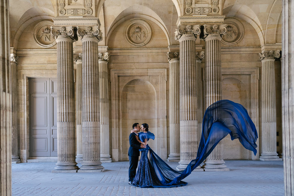 Pre and post wedding photography in Paris