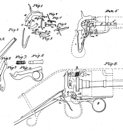 diagram from the colt revolver patent 1836 [ 2231 x 1692 Pixel ]