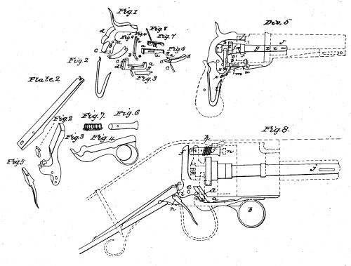 small resolution of diagram from the colt revolver patent 1836