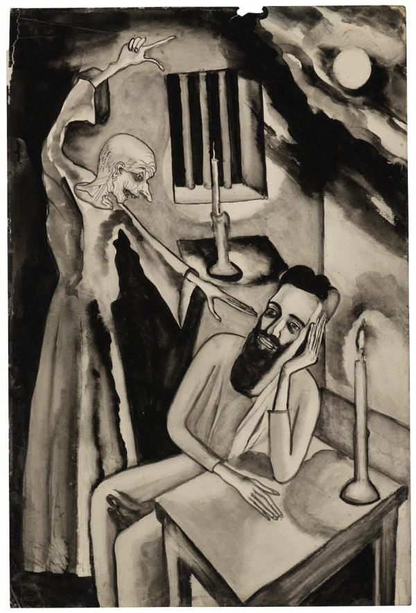 Alice Neel Unpublished Illustrations Of Brothers