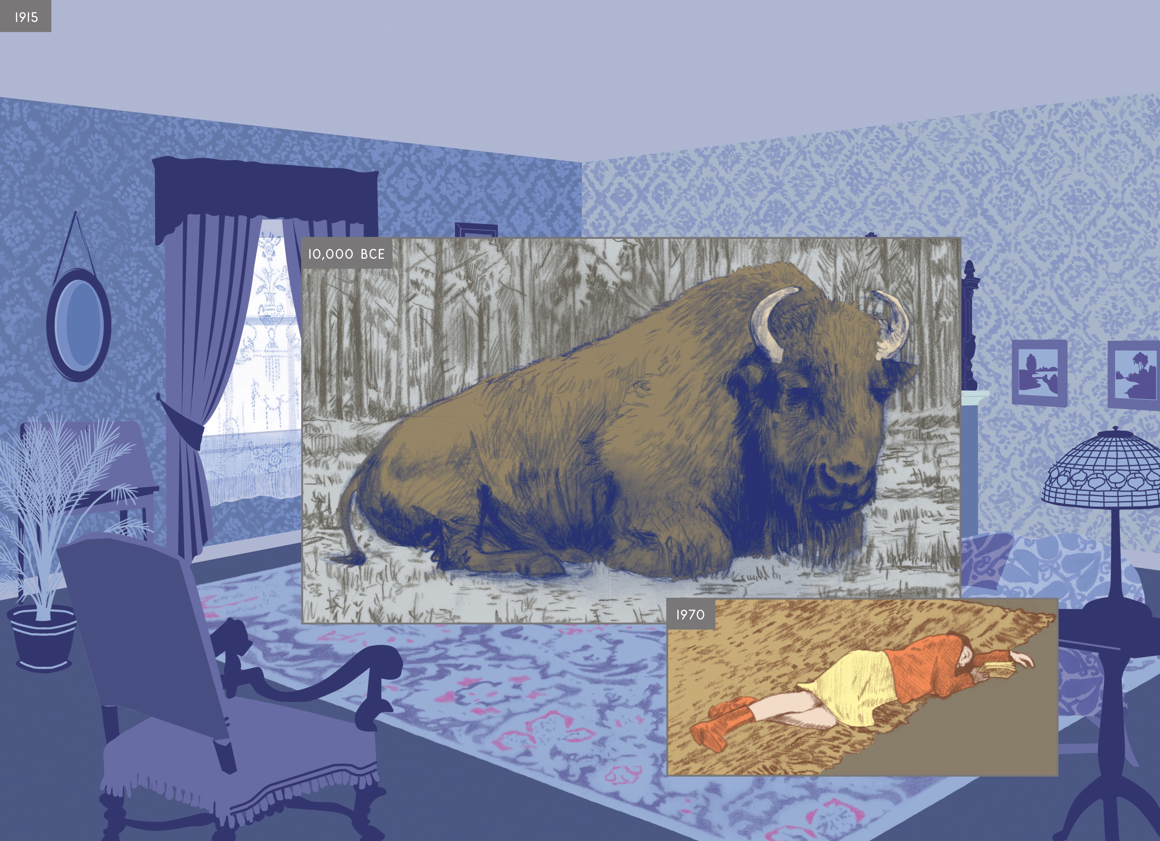 Richard McGuire on Here His Groundbreaking Graphic Novel