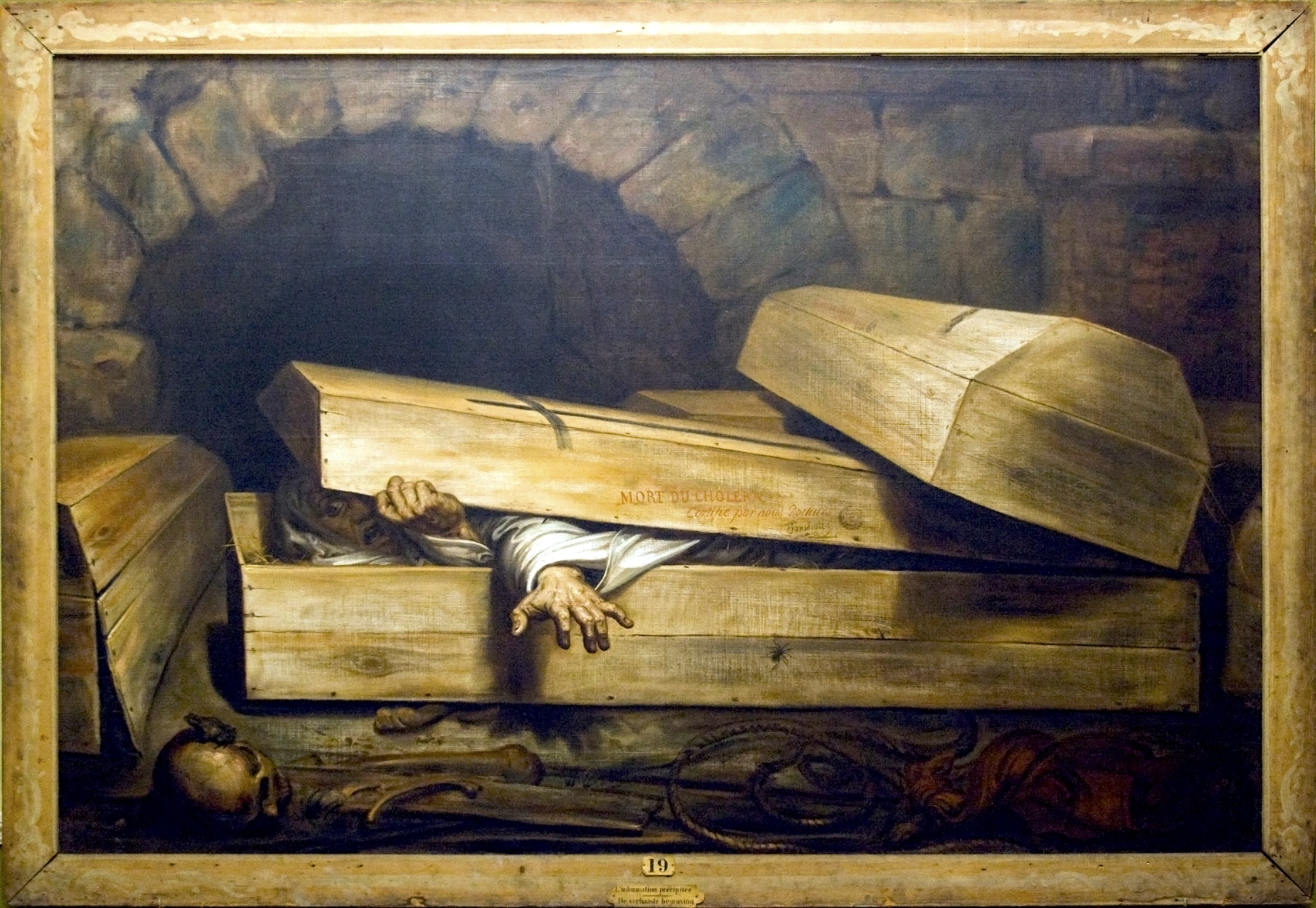 The Nineteenth Century Obsession with Premature Burial