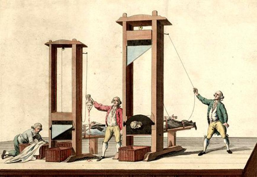 Image result for guillotine""