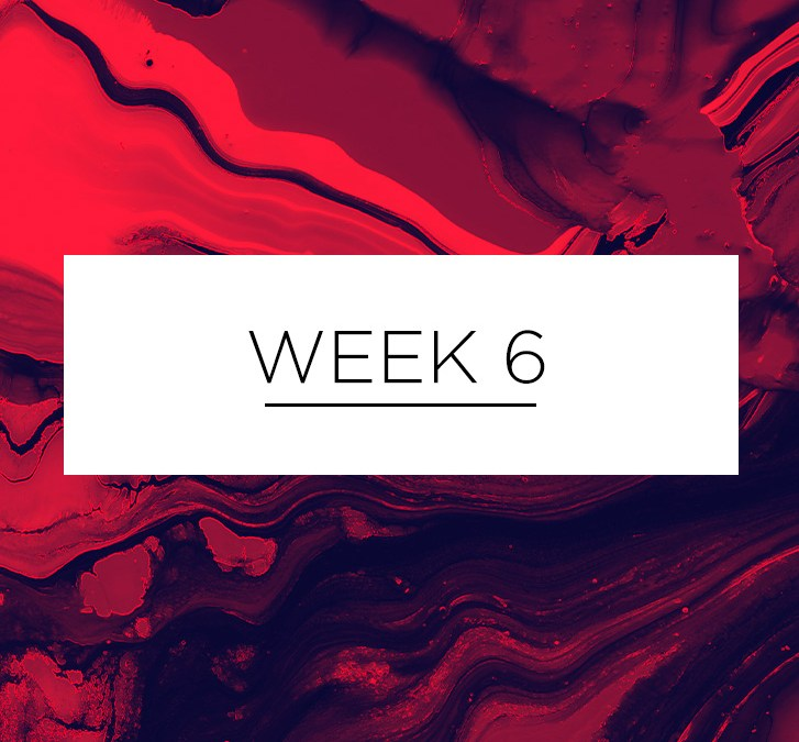 Lent Week 6 | March 25 – 31