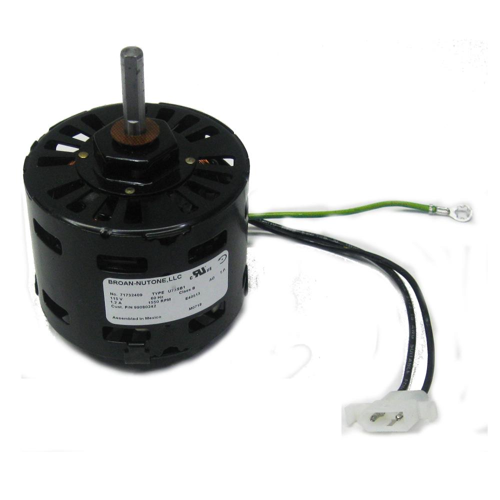broan s97008584 ventilation fan motor 18557 z
