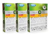 20x25x4 MERV 8 Furnace Filter Filter HW2025, 3 Pack