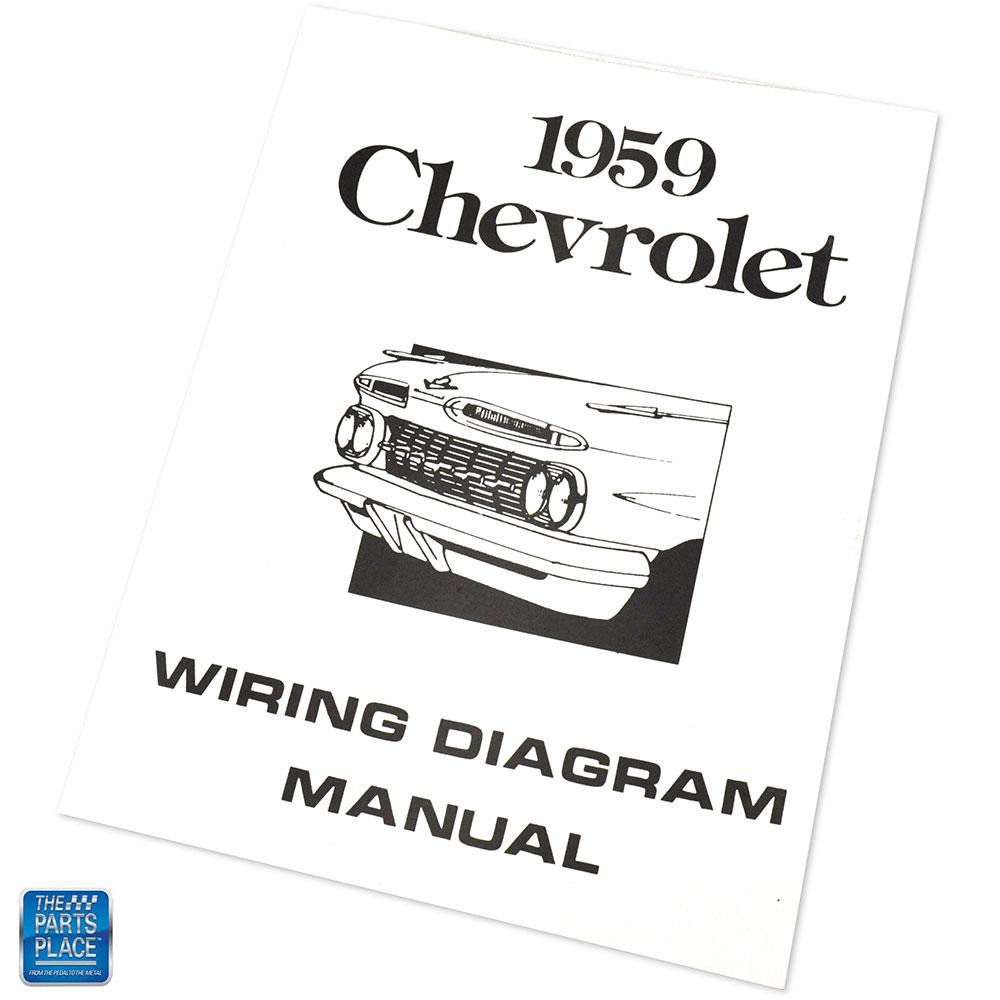 1959 Chevrolet Impala Bel Air Wiring Diagram Manual