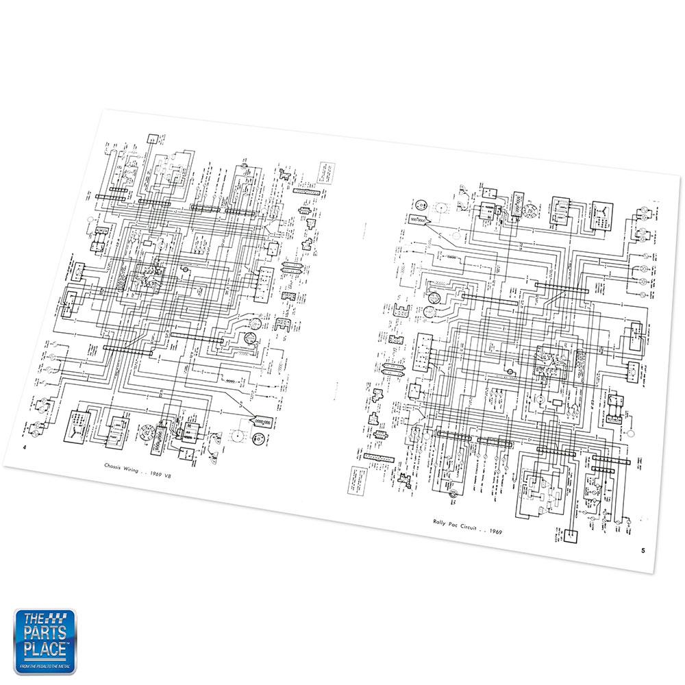 1969 Cutlass 442 F85 Oldsmobile Wiring Diagram Manual Each