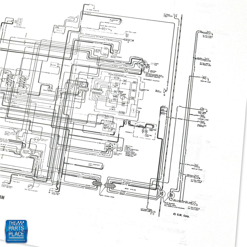 1968 Buick Special Gran Sport Skylark Wiring Diagram
