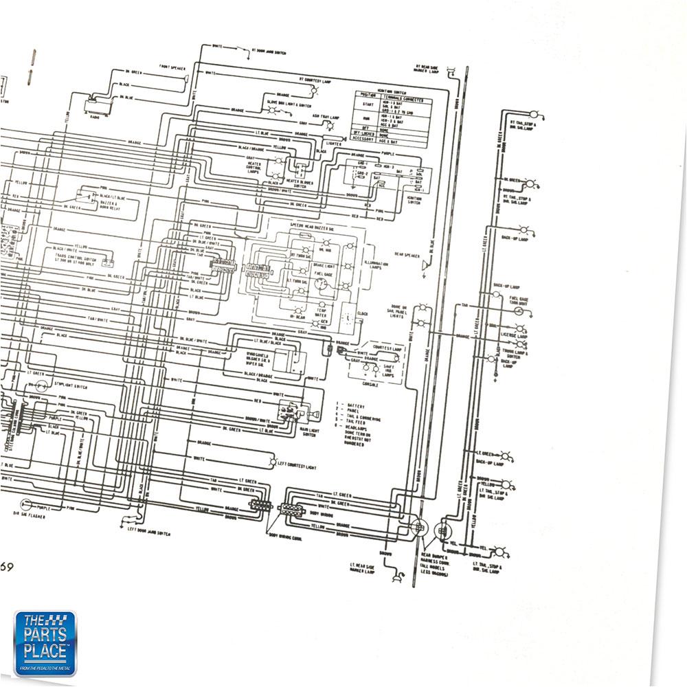 1969 Buick Special Gran Sport Skylark Wiring Diagram