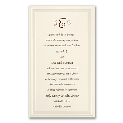 Hindu Marriage Invitation Card