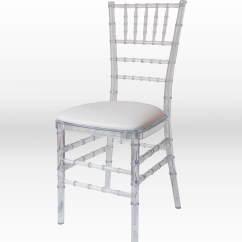 Clear Chiavari Chairs Slipcovers For Armed Dining Room Chair The Party Centre