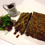 Lentil Loaf (using Puy Lentils aka French Style Lentils)