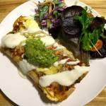 Chicken Enchiladas (Lighter Style)