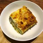 Mushroom, Spinach and Ricotta Lasagne