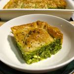 Spinach, Herb and Feta Pie