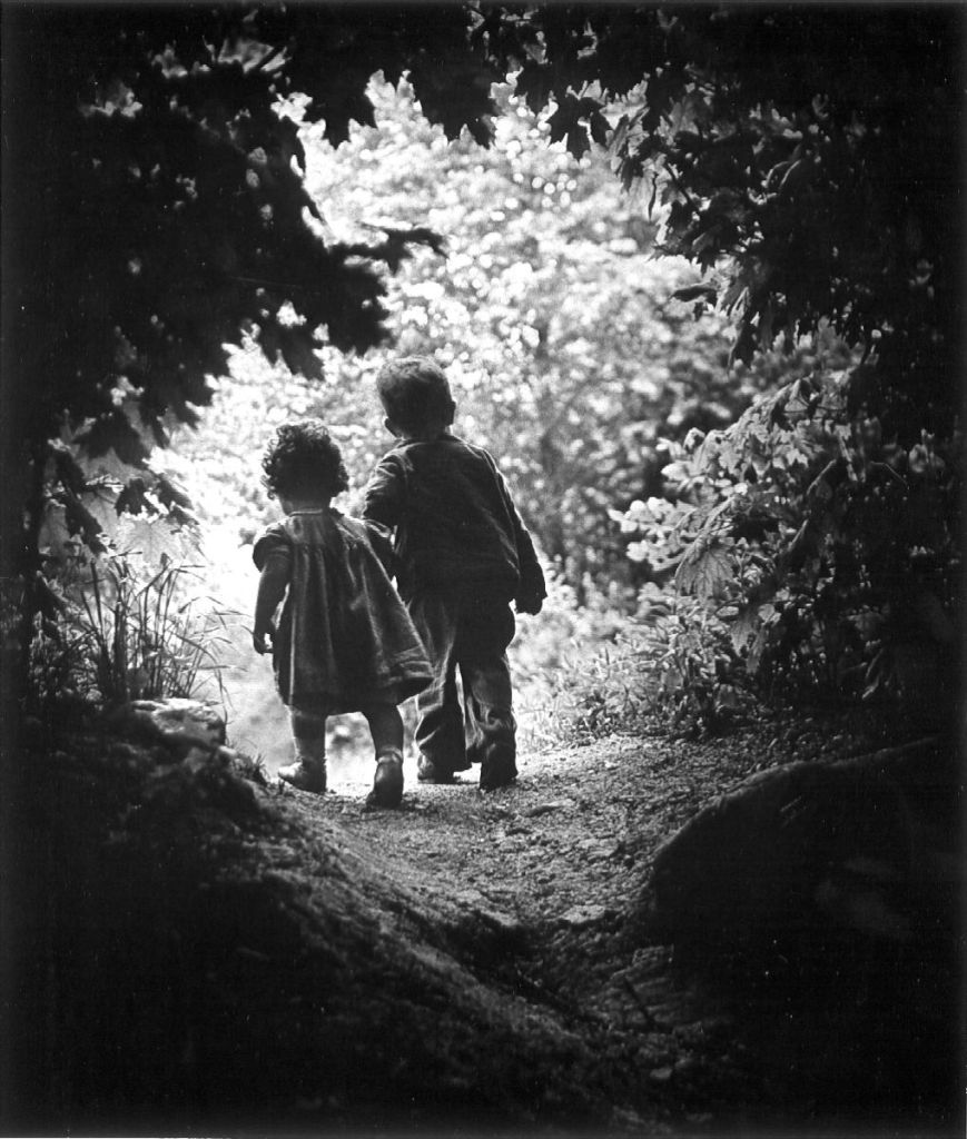 Eugene Smith's image of his own children closed the exhibition The Family of Man. What makes this image so universal?