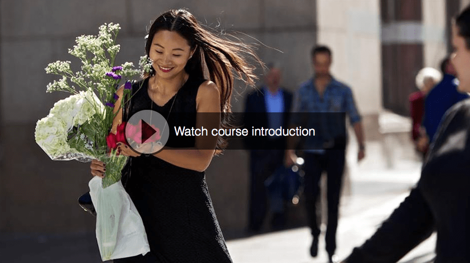 Watch the Online Video Course: Street Photography – Candid Portraiture