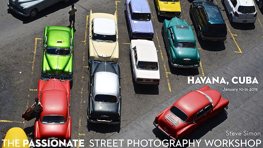 Street Photography Workshop in Havana – January 10 – 16, 2016