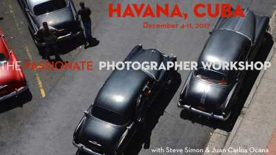 Dec 4-11, 2017: The Passionate Photographer Workshop:  An Intensive & Transformational Shooting Experience  with Steve Simon & Juan Carlos Ocana