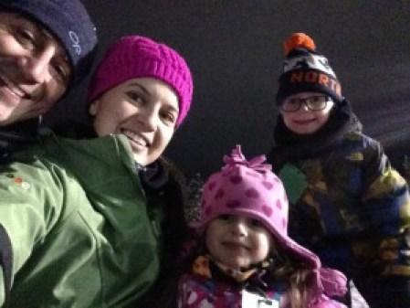 New Years Whitefish Family