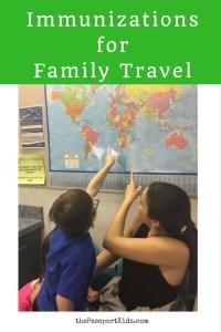 Immunizations for Family Travel